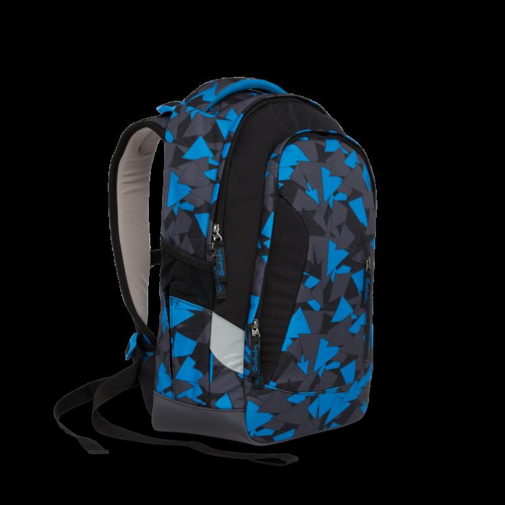 Рюкзак Ergobag Satch Sleek цвет Blue Triangle, - фото 5