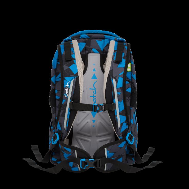 Рюкзак Ergobag Satch Sleek цвет Blue Triangle, - фото 7