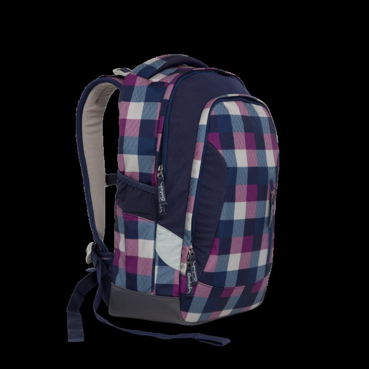 Рюкзак Ergobag Satch Sleek цвет Berry Carry, - фото 6