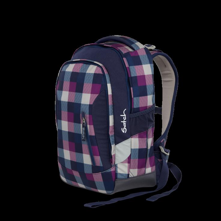Рюкзак Ergobag Satch Sleek цвет Berry Carry, - фото 1