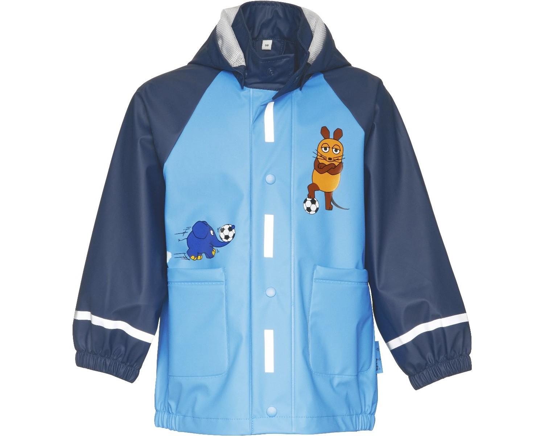 Непромокаемая куртка для детей Playshoes Мышка и Слон + средство для стирки, - фото 1