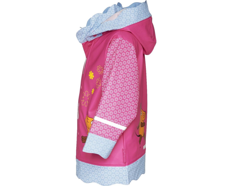 Непромокаемая куртка для детей Playshoes Мышка и Слон + средство для стирки, - фото 6