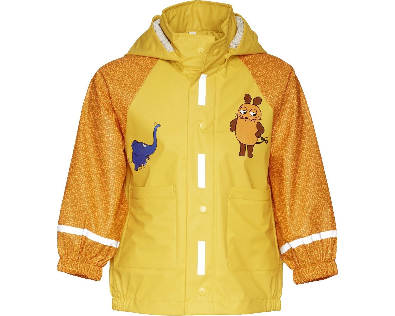 Непромокаемая куртка для детей Playshoes Мышка и Слон + средство для стирки, - фото 8