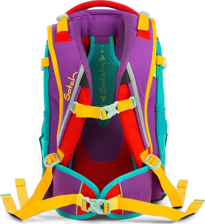 Satch Pack рюкзак для школьника цвет Flash Runner, - фото 5