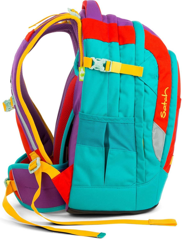 Satch Pack рюкзак для школьника цвет Flash Runner, - фото 7