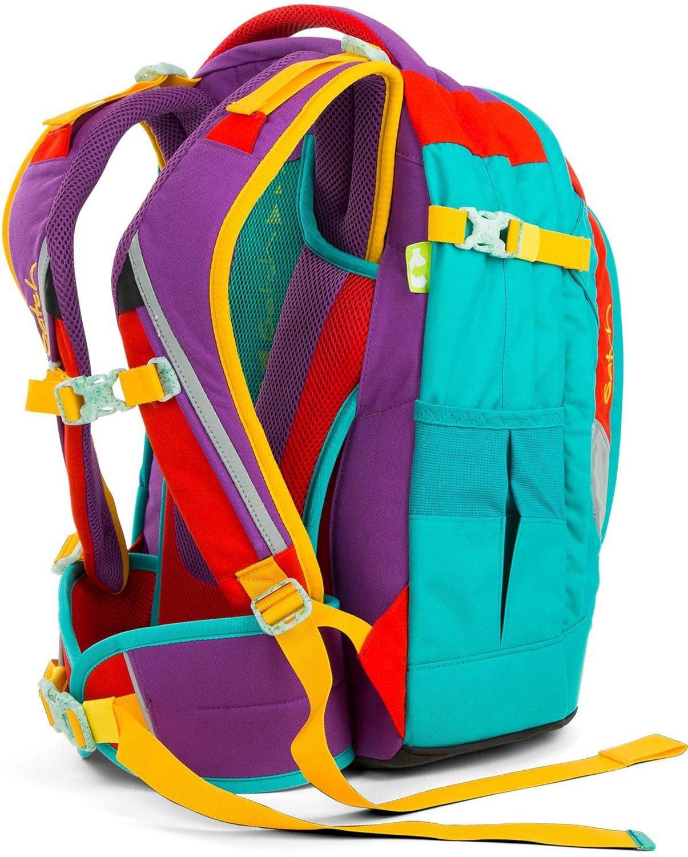 Satch Pack рюкзак для школьника цвет Flash Runner, - фото 6