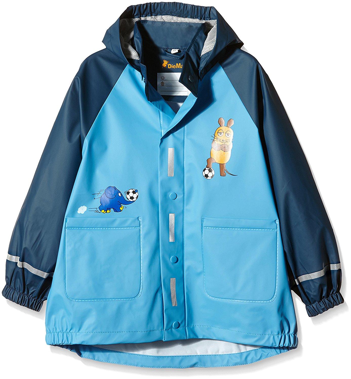 Непромокаемая куртка для детей Playshoes Мышка и Слон + средство для стирки, - фото 3