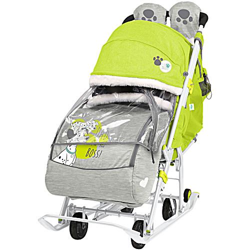 Санки коляска ника disney baby