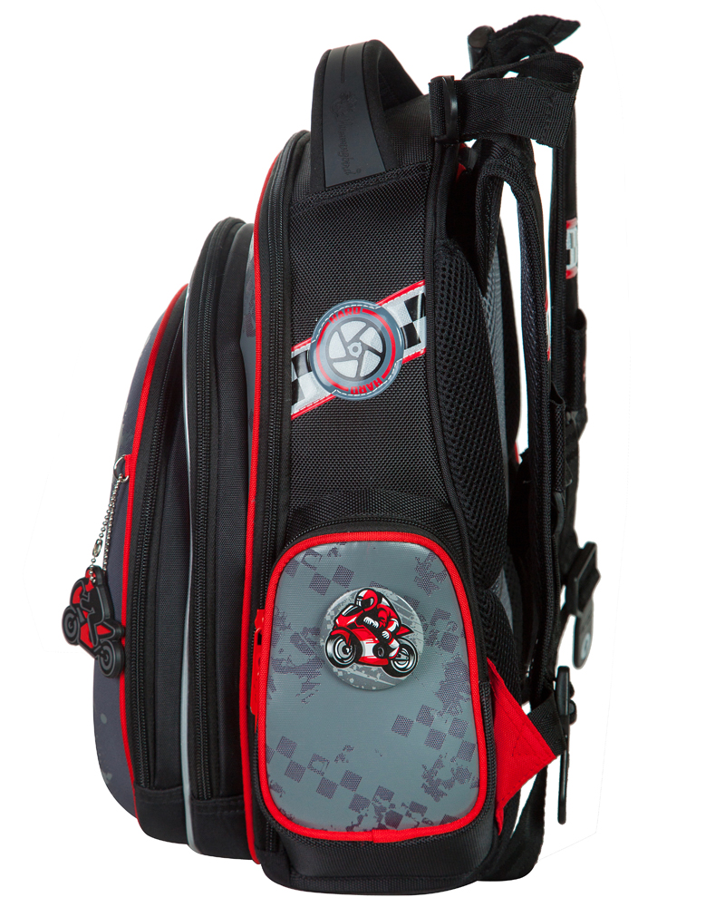 Школьный рюкзак Hummingbird TK47 официальный с мешком для обуви, - фото 2