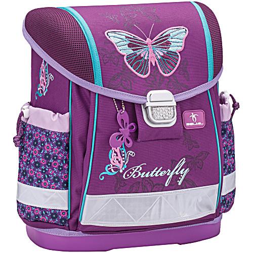 Школьный ранец Belmil 403 13 Butterfly - Фиолетовая бабочка