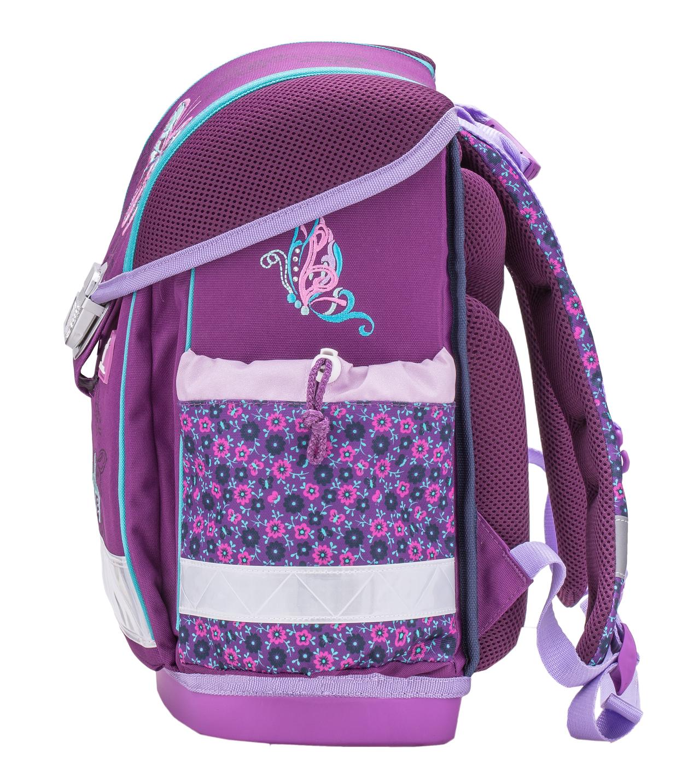 Школьный ранец Belmil 403 13 Little Princess - Фиолетовая корона - Принцесса, - фото 4