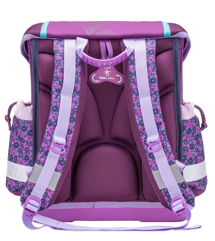 Школьный ранец Belmil 403 13 Butterfly - Фиолетовая бабочка, - фото 3