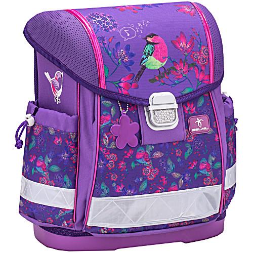 Школьный ранец Belmil 403 13 Singing Little Bird - Фиолетовая птичка
