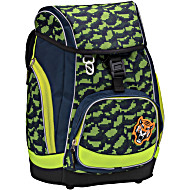 Ранец-рюкзак Belmil Comfy Pack 405-11/688 цвет Green Cubic + дождевик