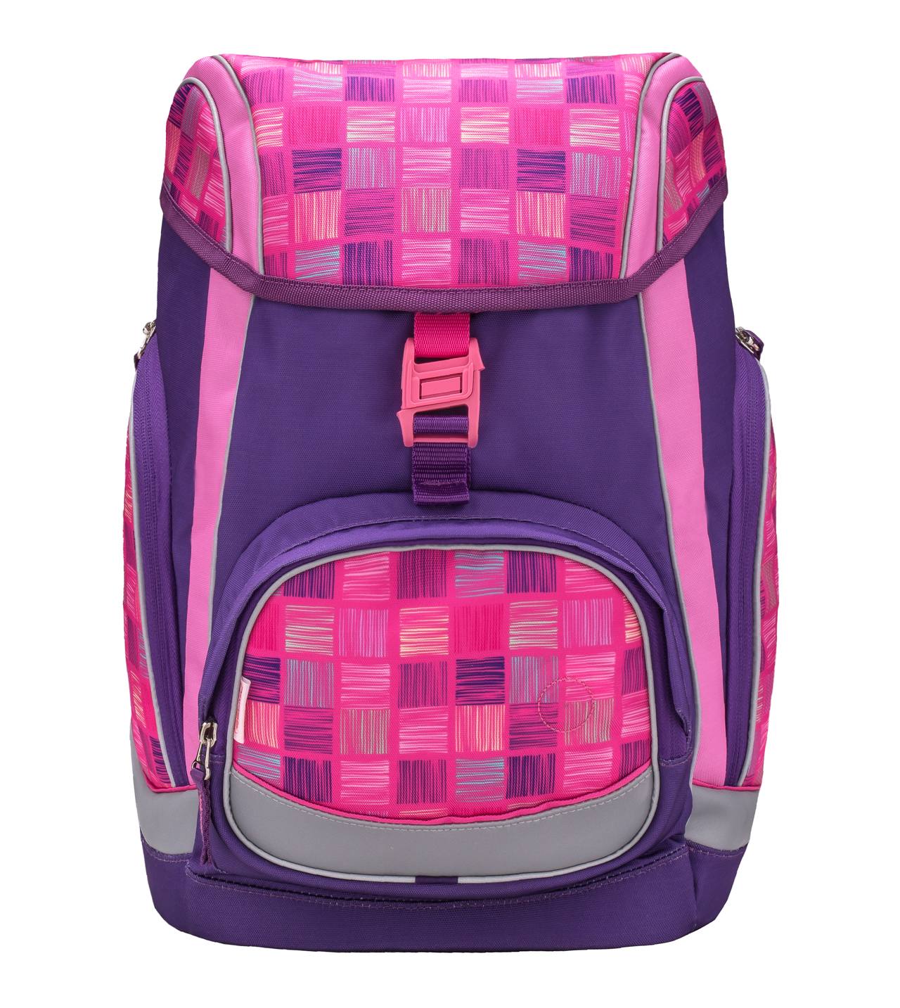Ранец-рюкзак Belmil Comfy Pack 405-11/683 цвет Pink & Purple Harmony+ дождевик, - фото 2