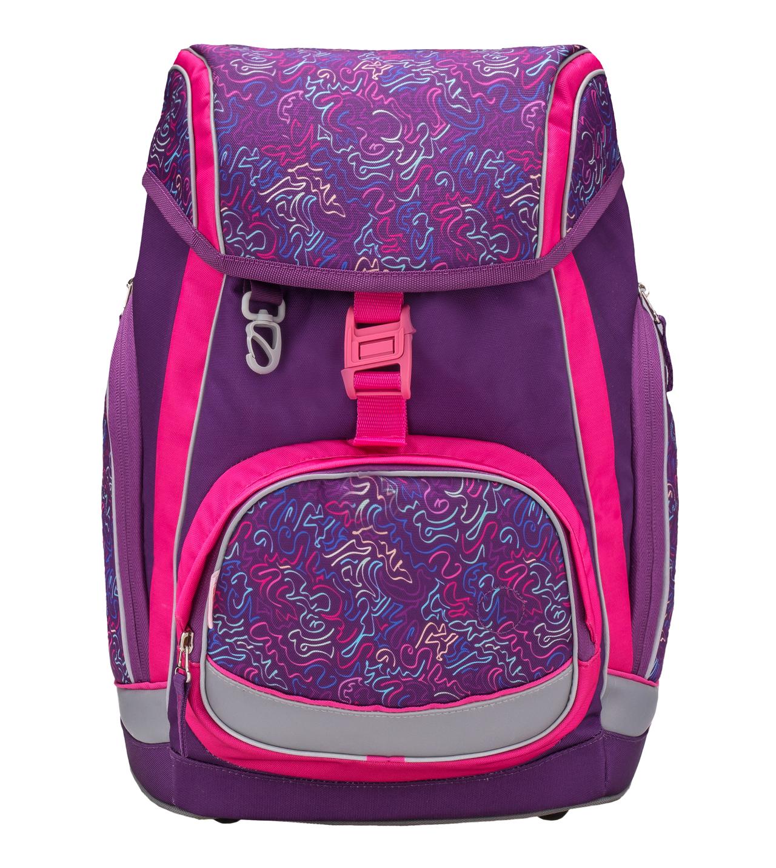 Ранец-рюкзак Belmil Comfy Pack 405-11/684 цвет Pop Art + дождевик, - фото 2