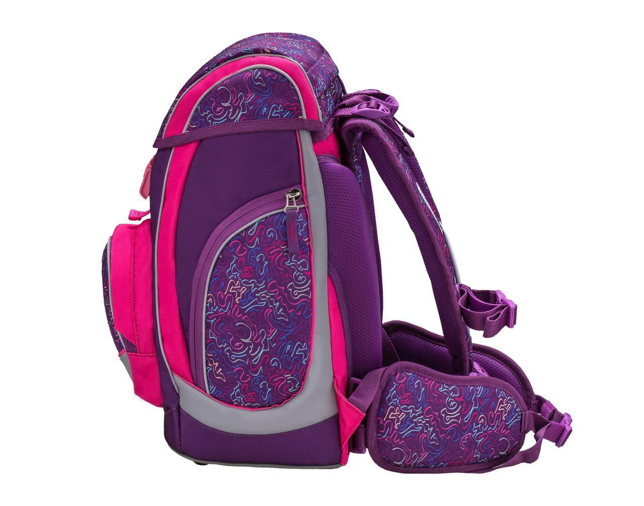 Ранец-рюкзак Belmil Comfy Pack 405-11/684 цвет Pop Art + дождевик, - фото 3