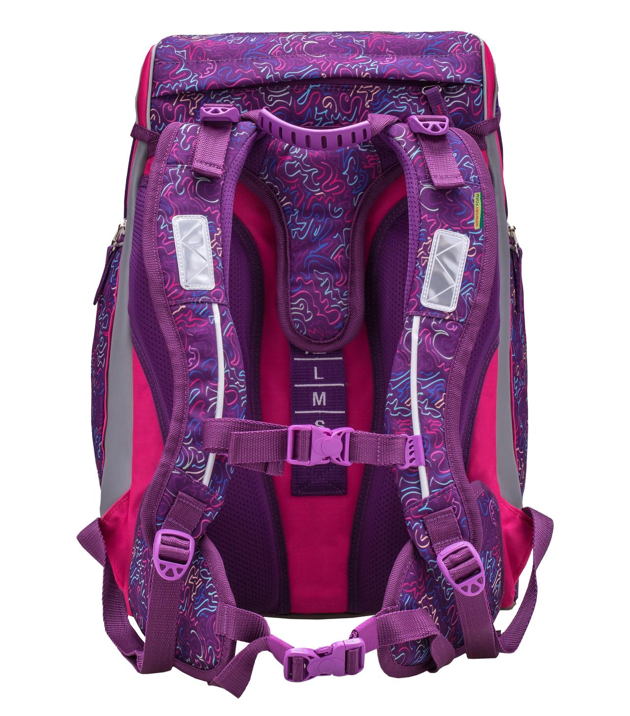 Ранец-рюкзак Belmil Comfy Pack 405-11/684 цвет Pop Art + дождевик, - фото 5