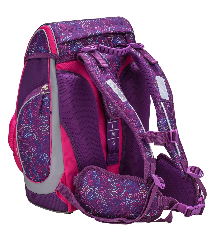 Ранец-рюкзак Belmil Comfy Pack 405-11/684 цвет Pop Art + дождевик, - фото 4