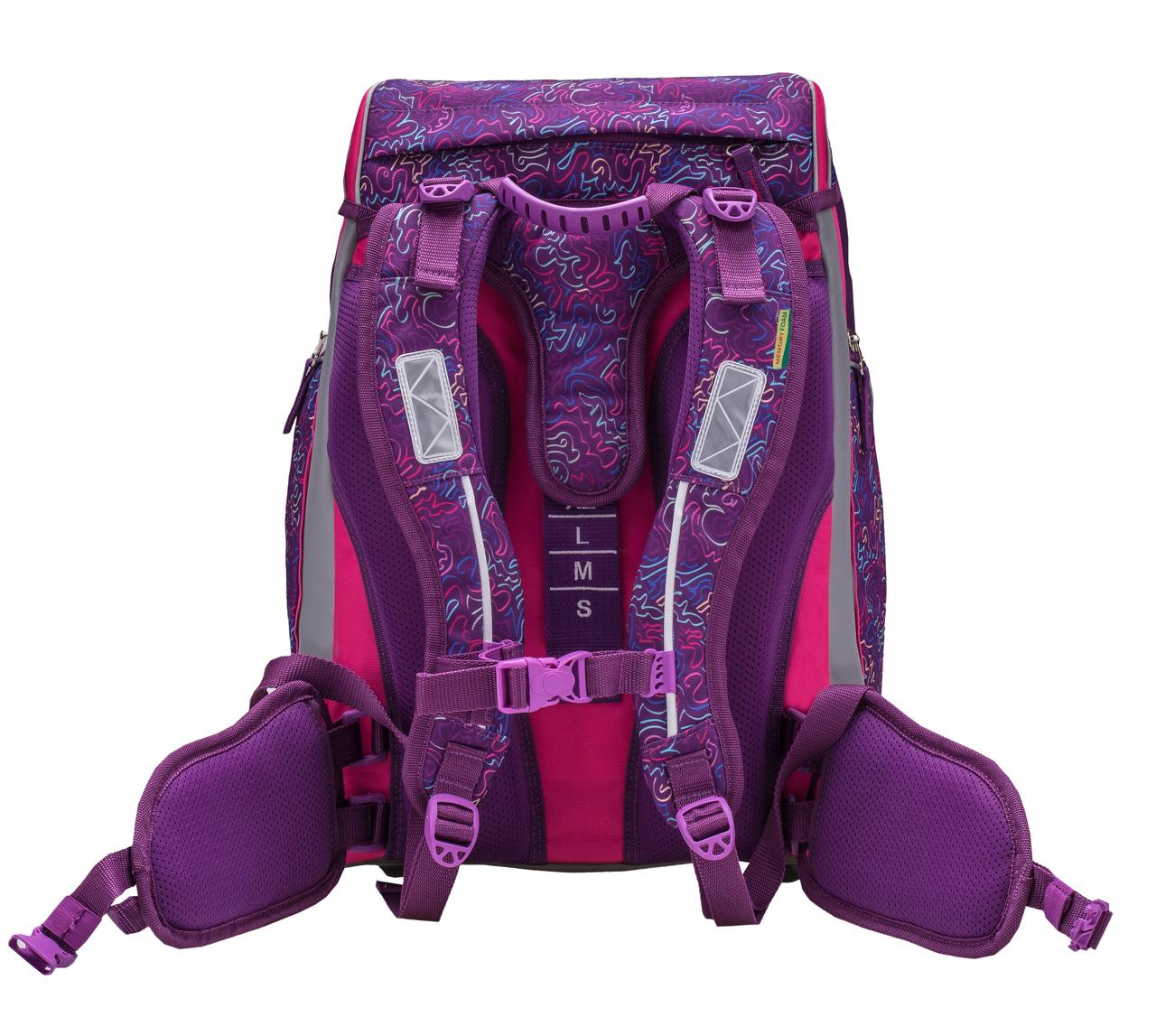 Ранец-рюкзак Belmil Comfy Pack 405-11/684 цвет Pop Art + дождевик, - фото 6