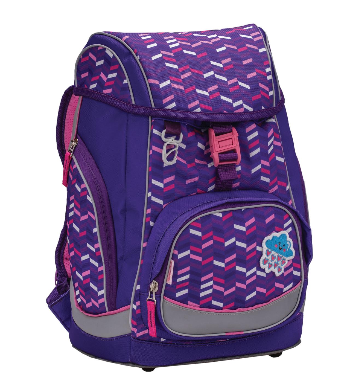 Ранец-рюкзак Belmil Comfy Pack 405-11/685 цвет Purple Color + дождевик, - фото 1
