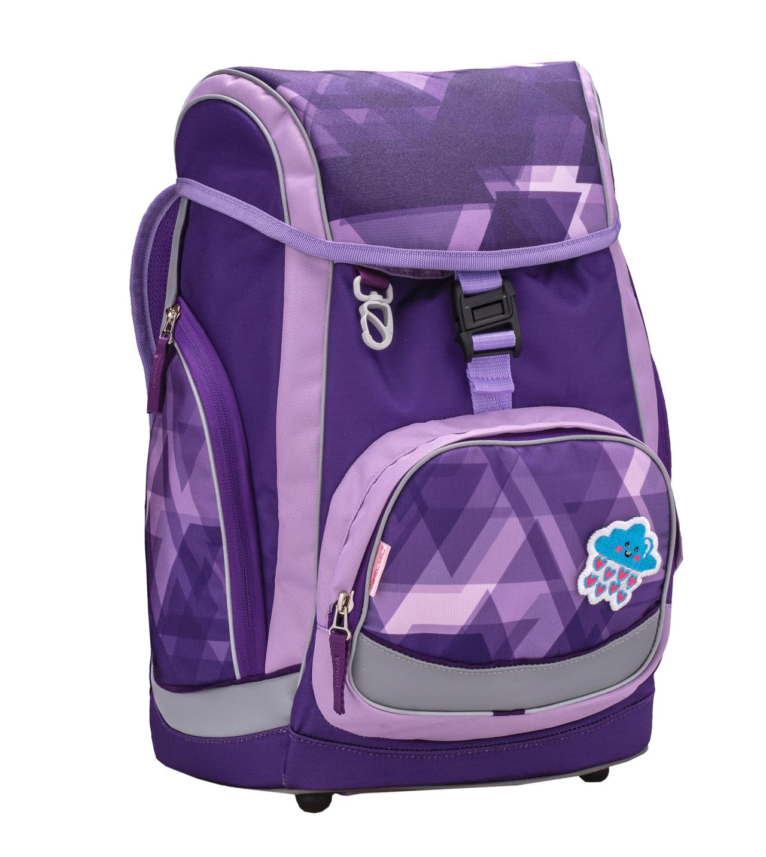 Ранец-рюкзак Belmil Comfy Pack 405-11/686 цвет Simply in Purple + дождевик, - фото 1
