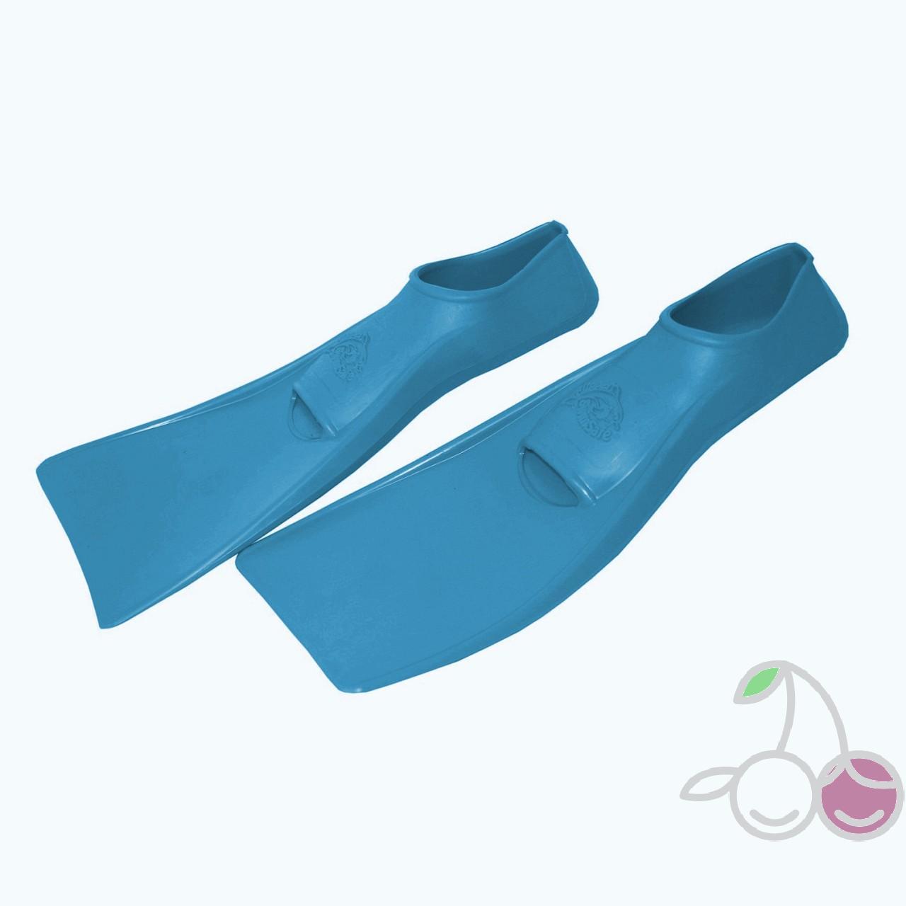 Ласты для бассейна резиновые детские размеры 24-26 синие СВИМСЕЙФ (SwimSafe) Германия, - фото 2