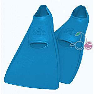 Ласты для бассейна резиновые детские размеры 22-24 синие СВИМСЕЙФ (SwimSafe) Германия