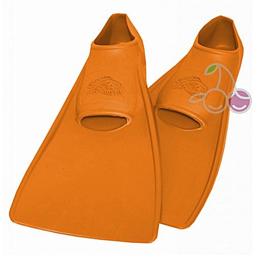 Ласты для бассейна резиновые детские размеры 24-26 оранжевые СВИМСЕЙФ (SwimSafe) Германия