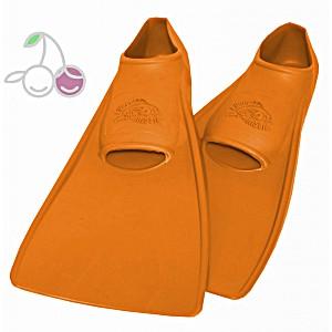 Ласты для бассейна резиновые детские размеры 26-28 оранжевые СВИМСЕЙФ (SwimSafe) Германия