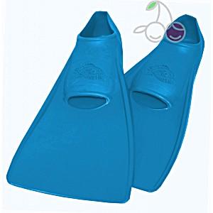 Ласты для бассейна резиновые детские размеры 26-28 синие СВИМСЕЙФ (SwimSafe) Германия