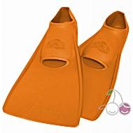 Ласты для бассейна резиновые детские размеры 30-33 оранжевые СВИМСЕЙФ (SwimSafe) Германия