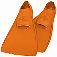 Ласты SwimSafe детские закрытая пятка для бассейна резиновые размер - 22 оранжевые СВИМСЕЙФ Германия