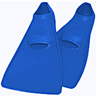 Ласты SwimSafe детские закрытая пятка для бассейна резиновые размер - 22 синие СВИМСЕЙФ Германия