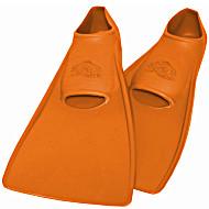 Ласты SwimSafe детские закрытая пятка для бассейна резиновые размер - 24 оранжевые СВИМСЕЙФ Германия