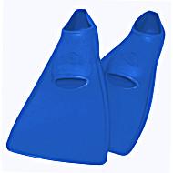 Ласты SwimSafe детские закрытая пятка для бассейна резиновые размер - 24 синие СВИМСЕЙФ Германия