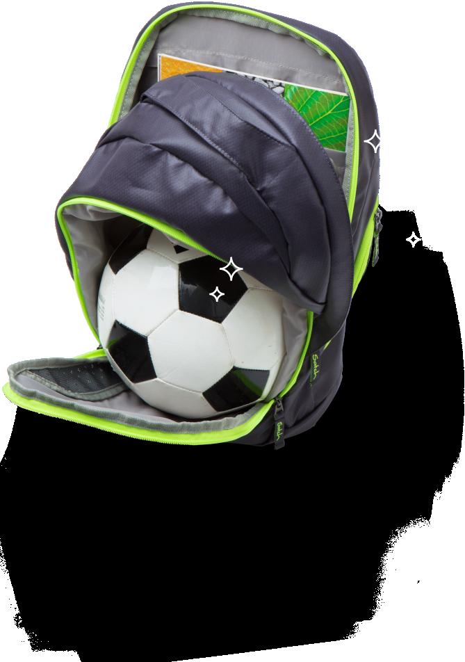 Молодежный рюкзак Satch Move Black Bounce, - фото 10