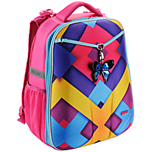 Рюкзак школьный mike mar майк мар 1008 – 141 Бабочка Ромбы