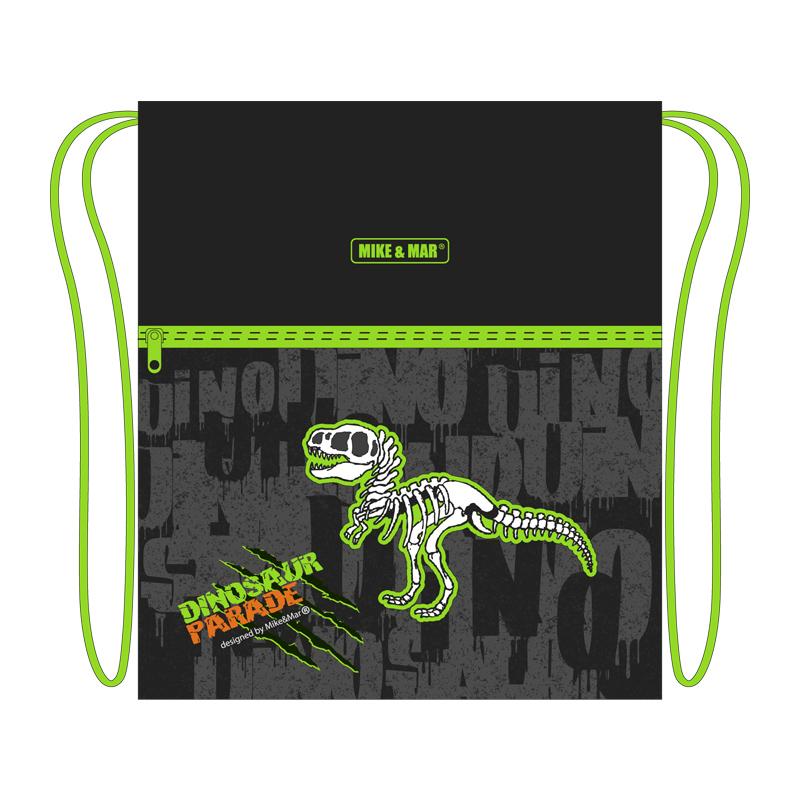 Ранец Mike Mar Динозавр 1074-ММ-150 + мешок для обуви + пенал в подарок, - фото 4