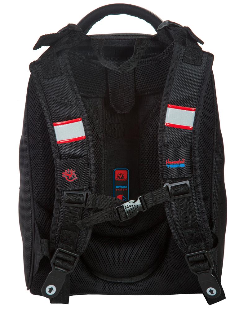 Школьный ранец Hummingbird Teens T90 BMX + мешок в подарок, - фото 2