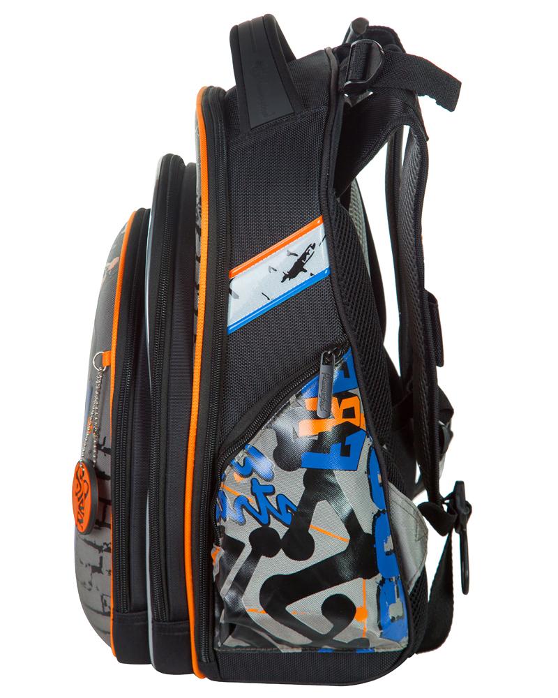 Школьный ранец Hummingbird Teens T97 Free Art + пенал в подарок, - фото 2