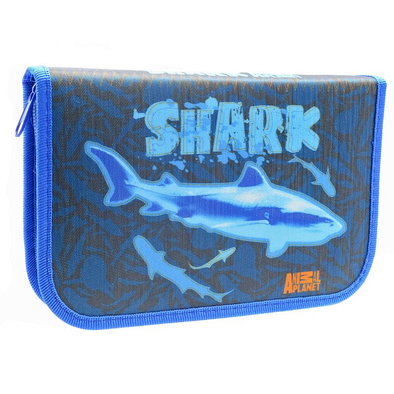 Пенал Акула Action! Animal Planet Shark, - фото 1