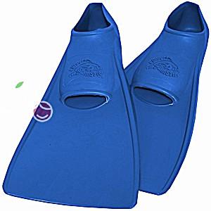 Ласты детские эластичные маленький размер 26 синие закрытая пятка SwimSafe (Свимсейф) Германия