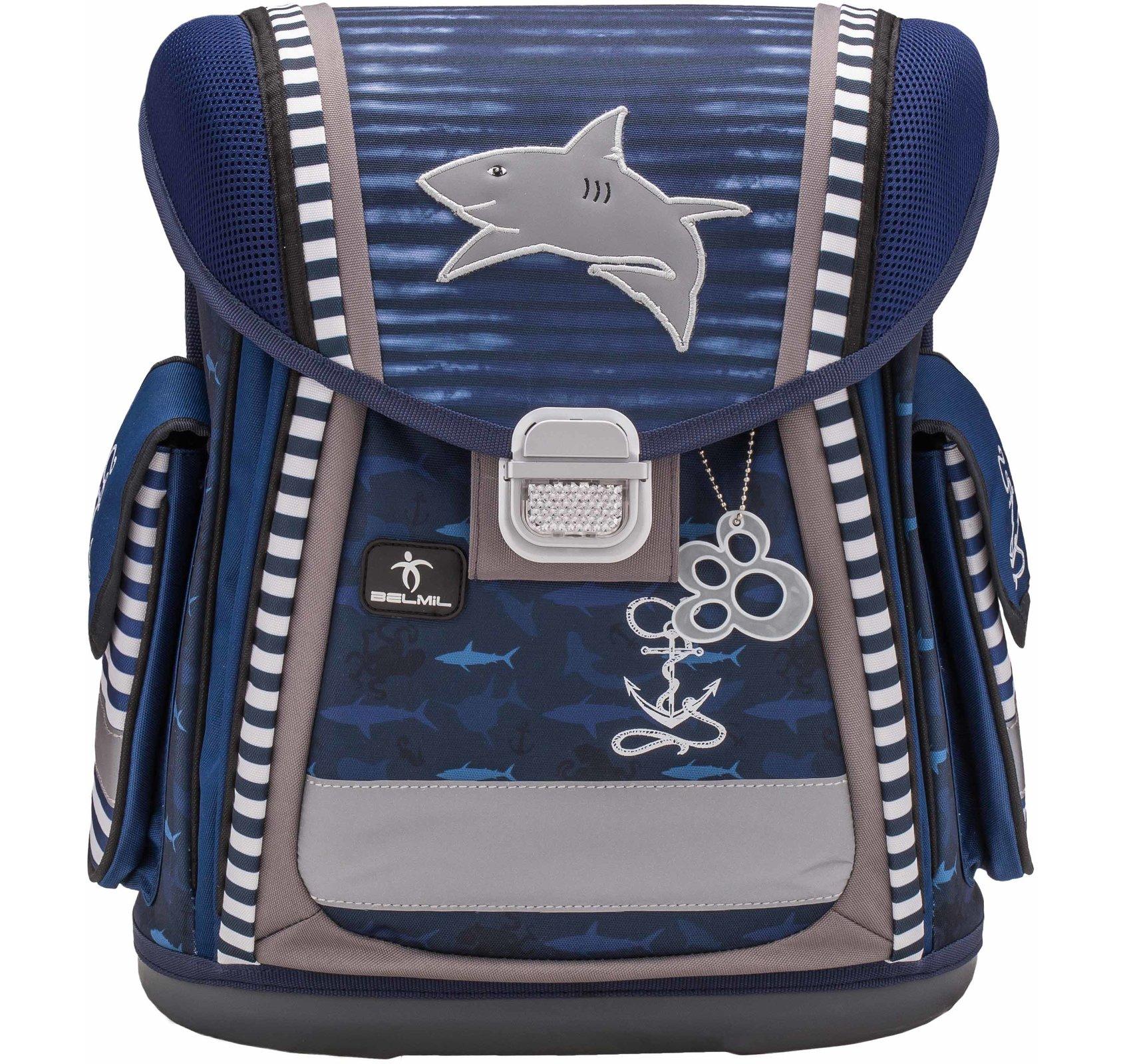 Ранец Belmil Акула 404 5 Sea Life + мешок, - фото 3