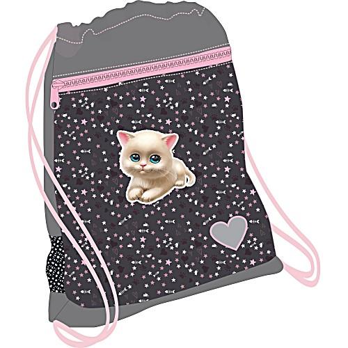 Мешок для обуви Кошачья Любовь 336-91 I Love Cats