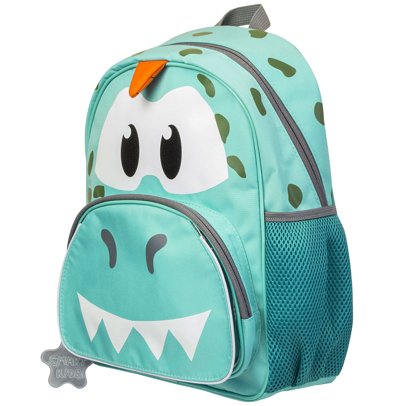 Детский рюкзак для мальчика JUMBO COMPACT MINI динозавр зеленый, - фото 2