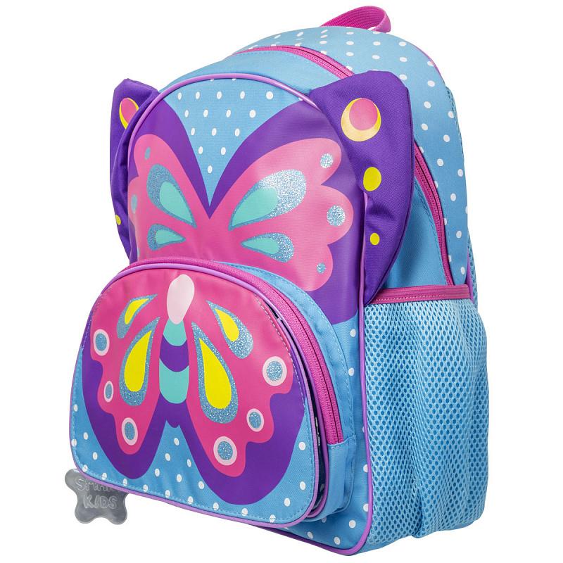 Детский рюкзак для девочки JUMBO COMPACT MINI бабочка, - фото 3