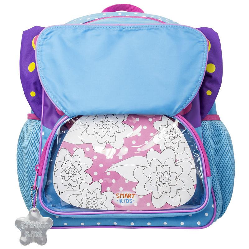 Детский рюкзак для девочки JUMBO COMPACT MINI бабочка, - фото 2