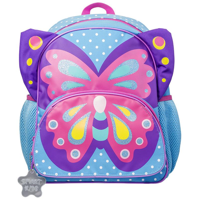 Детский рюкзак для девочки JUMBO COMPACT MINI бабочка, - фото 1