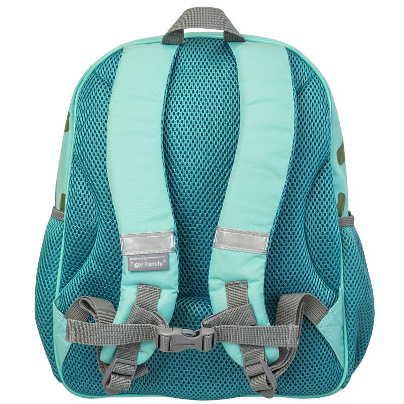 Детский рюкзак для мальчика JUMBO COMPACT MINI динозавр зеленый, - фото 6